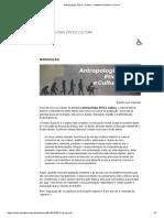 Antropologia, Ética e Cultura – Material Dinâmico On-line