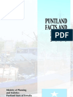 Puntland Facts and Figures 2003
