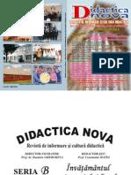 Didactica Nova, Nrs.15-16-17-18, 2009