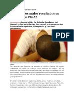 Articulo Revista SEMANA- Pruebas PISA
