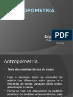 ANTROPOMETRIA - APRESENTACAO