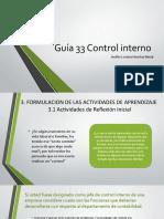 Guía 33 Control interno.pptx