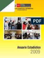 ANUARIO ESTADISTICO 2009