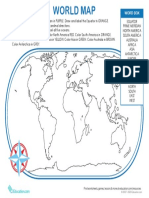 world map grade 8