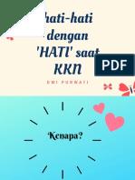 Materi Diskusi Online KKN life
