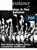 Zionism is Not Judiasm