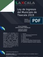 Ley de Ingresos del Municipio de Tlaxcala