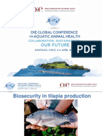 Biosecurity in tilapia production