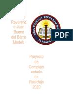 Proyecto Complementario Reciclaje 2020 (1)