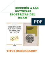 ESOTERISMO ISLÁMICO - Titus Burckhardt
