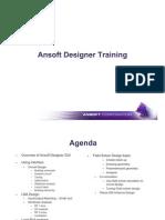 Ansoft Designer Training