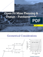 Open Pit Mine Planning Fundamentals EP