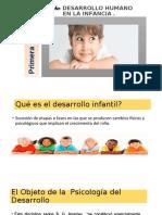 DIAPOSITIVAS 1 ok INTRODUCCION A LA PSICOFISIOLOGÍA DE LA INFANCIA