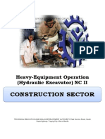 cbc hydraulic excavator