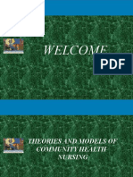 Theories and Models in Community Health Nursing