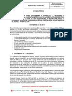 ESTUDIOS PREVIOS Y ANÁLISIS DEL SECTOR