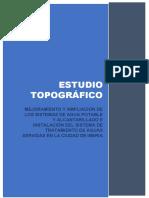 1.0 Estudio Topográfico Rev.01