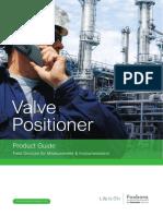 Foxboro Valve Positioner Product Guide