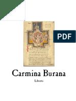 Carmina Burana - libreto