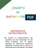 sustentabiliad