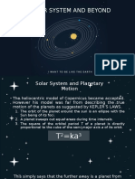 Solar System and Beyond Part 1