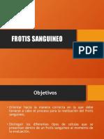 FROTIS SANGUINEO 2018
