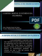 a esfera social e filosofia
