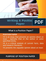 WRITING A POSITION PAPER.pptx