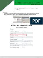 Configuração ONT 121 W e 142N W na OLT Fiberhome_GPON
