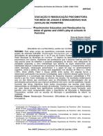 EDUCAÇÃO E REEDUCAÇÃO PSICOMOTORA