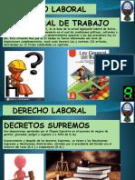 LEGISLACION LABORAL - derecho laboral