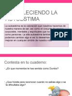 FORTALECIMIENTO EL AUTOESTIMA