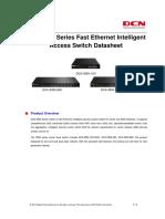 DCS-3950 L2 Fast Ethernet Intelligent Access Switch Datasheet R5 v3.1