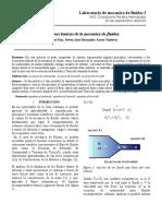 informe fluidos 2 ecuaciones basicas mecanica de fluidos