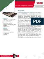 VPX3-152-3U-VPX-NXP-T2080-Single-Board-Computer-product-sheet