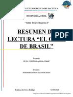 Resumen de lectura El gato de brasil