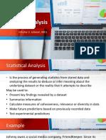 Statistical Analysis 1