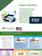 Mannatech Estado Unidos Planilla de Registro