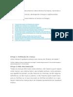 Principais documentos sobre direitos humanos