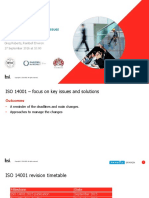 ISO 14001 – focus on key issues and solutions
