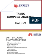 Complex-Analysis Madras university