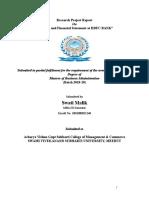 SWATI Banking & Financial Stement at HDFC Bank LTD (1)