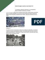 Contaminación de agua y suelo en Love Canal