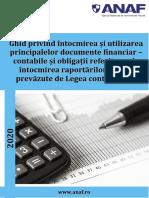 Ghid Documente Financiar Contabile 2020