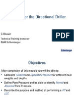 @Rosier - Well Control for the Directional Driller