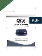 DECODIFICADOR QFX CV-102 Manual