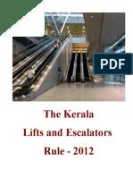 The Kerala Lifts and Escalators Rules 2012