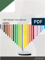 AOC Monitor Manual