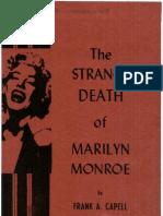 The Strange Death of Marilyn Monroe