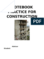 Notebook Practice for Construction